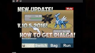 Roblox Project Pokemon: How to get Dialga + Giveaway Winner! (TLS) New Update v.10.5.2016