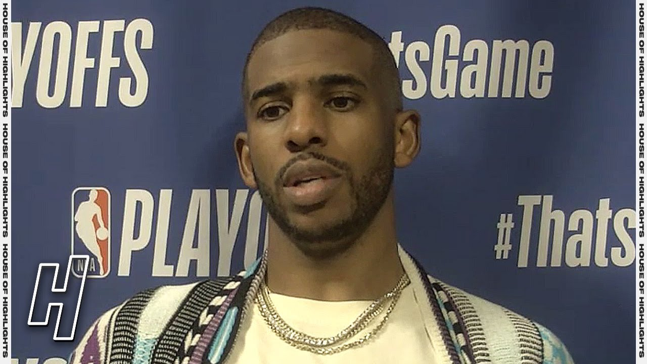 Download Chris Paul Postgame Interview - Game 3 - Suns vs Nuggets | 2021 NBA Playoffs