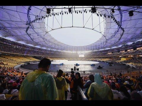 KL2017 LIVE From Stadium Bukit Jalil - Dayang Nurfaizah 'Bangkit Bersama'