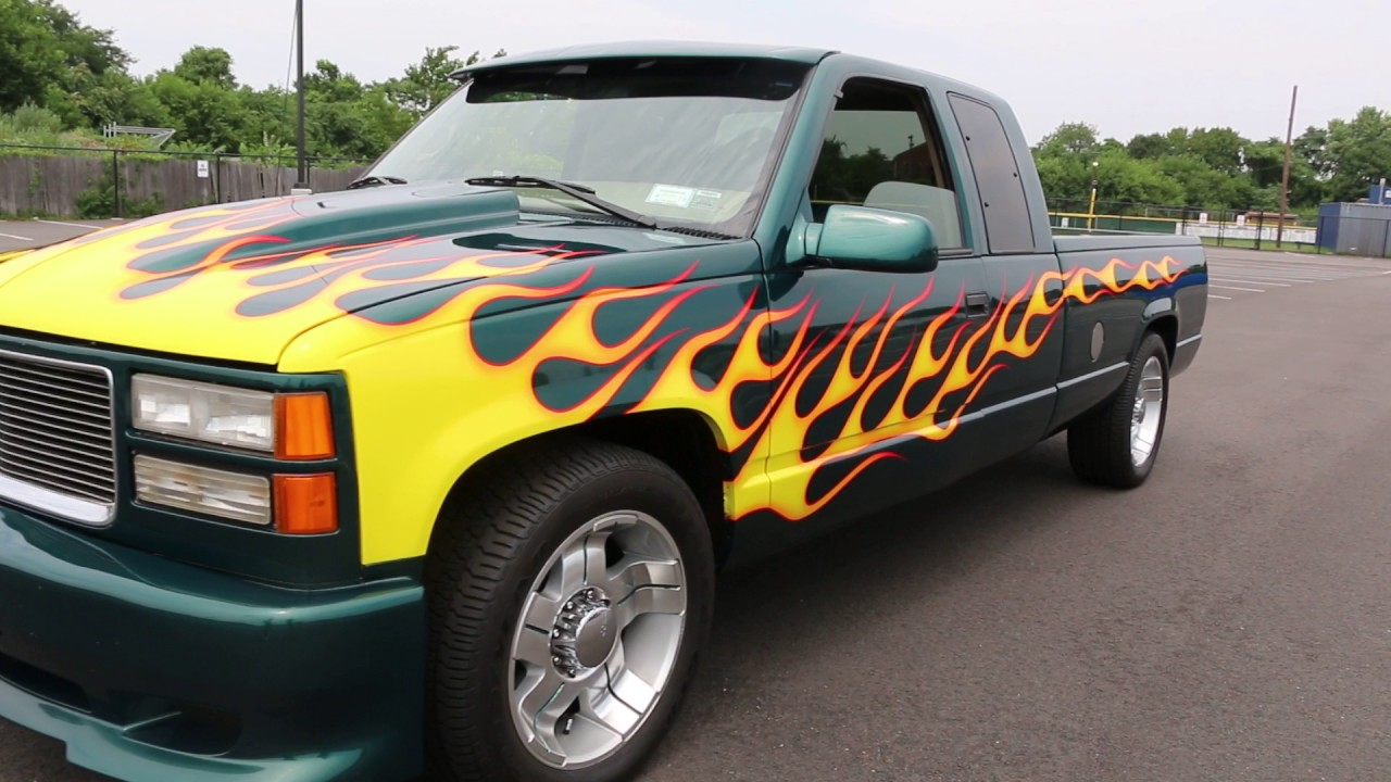CUSTOMIZED 1997 Chevrolet Sierra 2500 4x4 Ext Cab Long Bed For ...