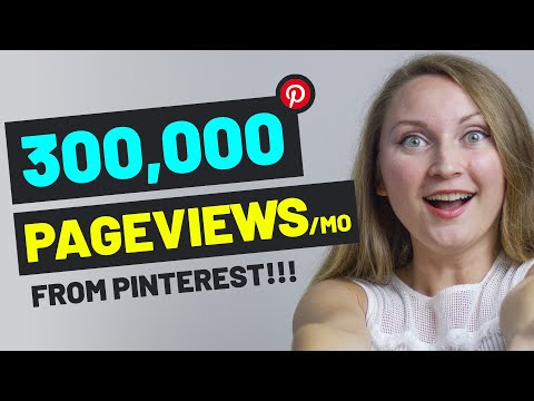 How to Use Pinterest to Drive Traffic to Your Website or Blog in 2020 - My 300,000/mo pv Strategy