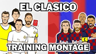 ⚪El Clasico - Training Montage 2020? Real Madrid vs Barcelona Preview