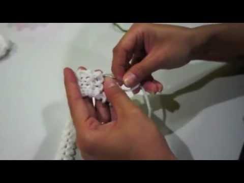 ถักดอกมะลิด้วย Magic Knit