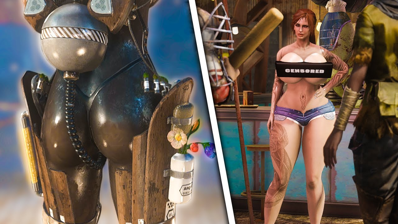 Fallout 4's Newest Adult Mods Take Modding To The Extreme