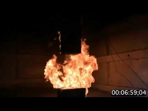 Aquion Energy Flame Propagation Timelapse