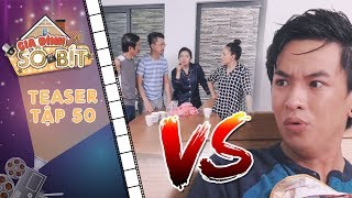 Gia đình sô - bít  Teaser tập 50: Cả nhà bất ngờ chăm sóc tận tình khiến Hoàng Tú trở tay không kịp?