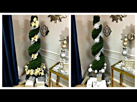 NEW.. SEE!2 Ways to A Christmas Tree Alternative