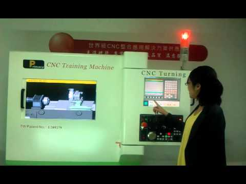 CNC Training Simulator Fanuc 0i TD