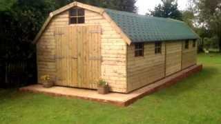 Large Timber Dutch Barn