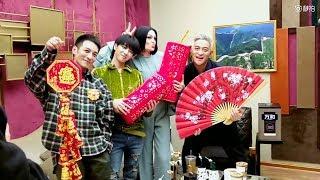 【歌手2018未播花絮】華晨宇、Jessie J、李維嘉、吉杰,四人拍照歡樂多~誰來轉移對花花手手的注意?