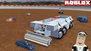 Özel Dev Kamyon İle Kapıştık!! - Panda ile Roblox Car Crushers 2