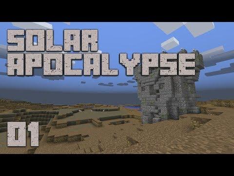 ►Solar Apocalypse LP: LETS GO!!! | Ep. 1 | Modded Minecraft Survival◄