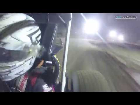 ONBOARD: ASCoC Ohio Sprint Speedweek Muskingum County Speedway Spencer Bayston
