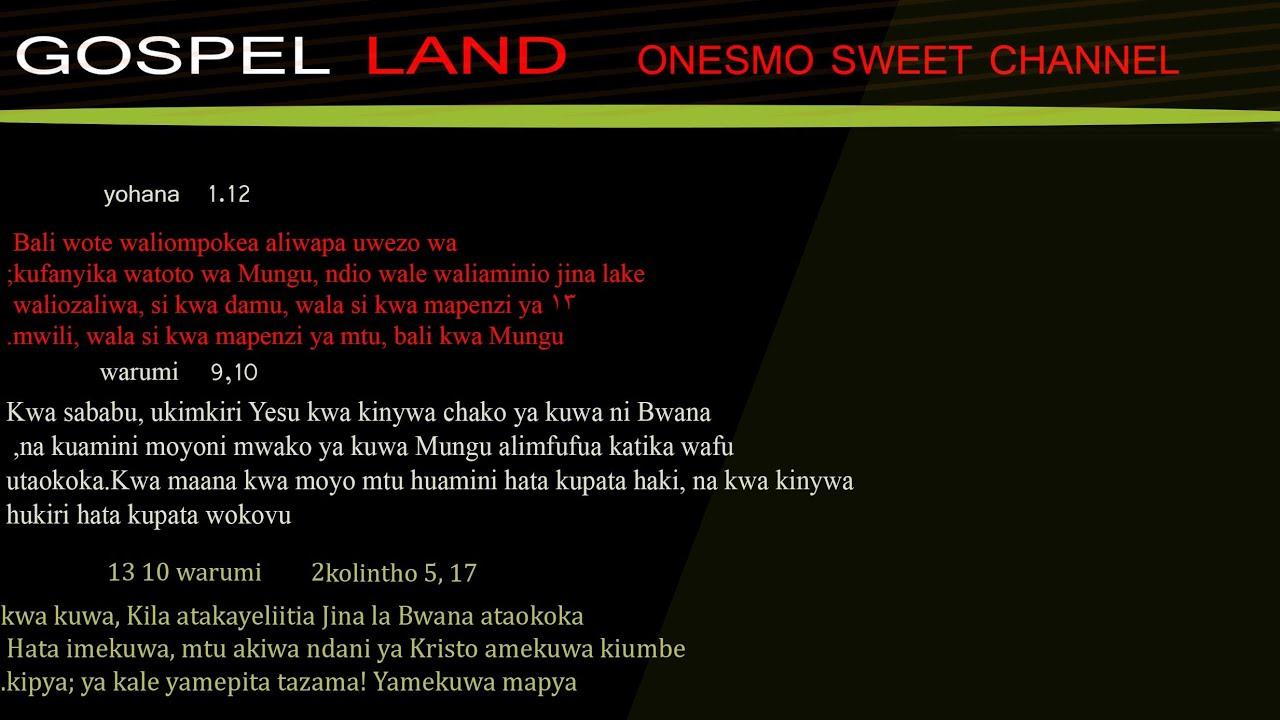 Download NI WEWE TU MUNGU WA MIUNGU NICE PRAISE BEAT 4 CHURCH SERVICE ONLY GOSPEL LAND ONESMO SWEET CHANNEL