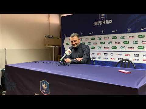 "Franck Haise (RC Lens) : ""Le Red Star n'a pas volé sa qualification"""
