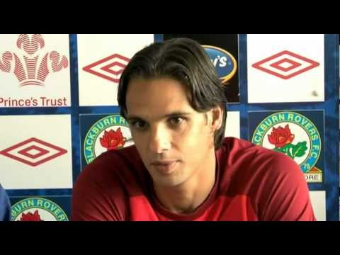 Nuno Gomes signs for Blackburn Rovers in two-year deal