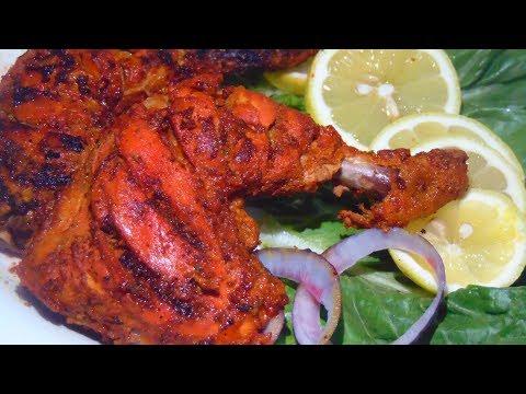 Tandoori Chicken Recipe | Tandoori Chicken Without Oven | तंदूरी चिकन  | تندوری چکن