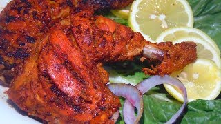 Tandoori Chicken Recipe | Tandoori Chicken without oven | तंदूरी चिकन  | تندوری چکن