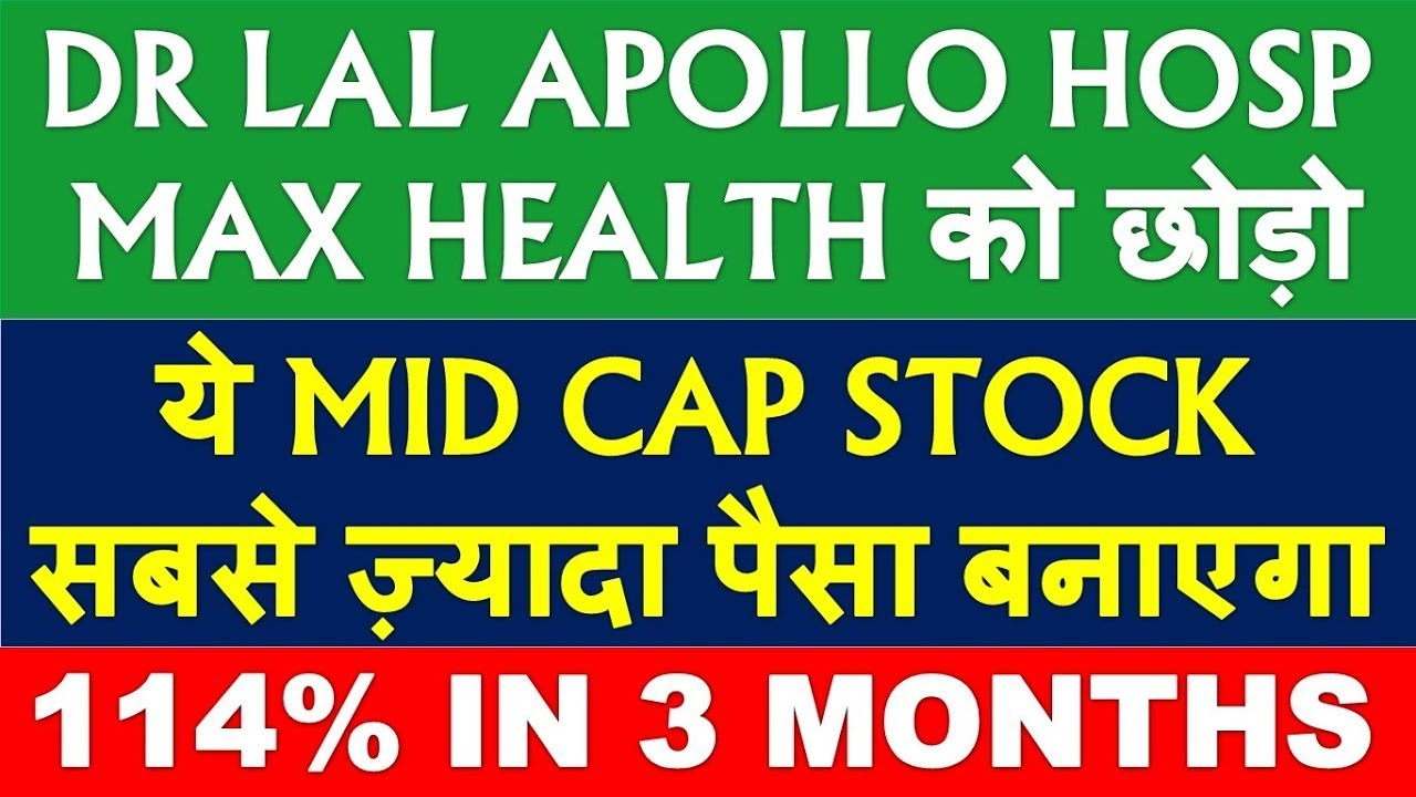 Healthcare stock better than Dr Lal Pathlab stock   best mid cap stock to buy   best mid cap shares
