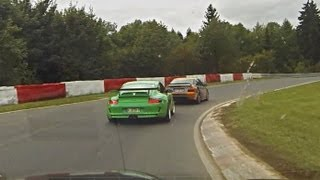 BMW RS-M3 vs Porsche 911 GT3 RS on the Nürburgring Nordschleife!