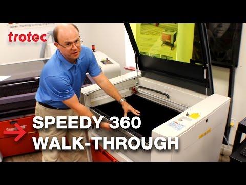 Speedy 360 flexx | Walk Through | Trotec