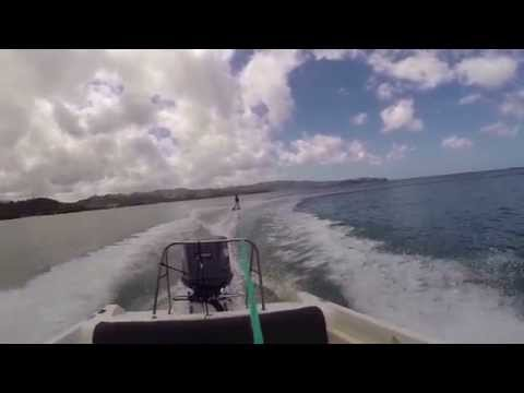 St.Lucia Waterskiing
