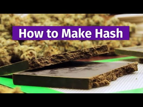 How to Make Hash - Cannabis Craftsmanship