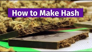 Cannabis Craftsmanship: How to Make Hash