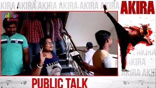 Akira Movie Public Talk, Review and Response | #AkiraMovie, #PublicTalk, #Review