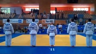 Judo demo team