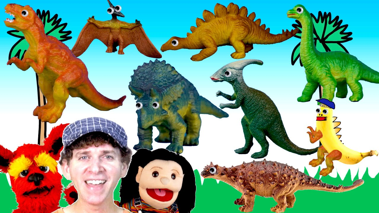 what do you see song dinosaurs learn english kids