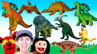 What Do You See? Song | Dinosaurs | Learn English Kids