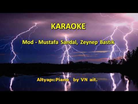 Mod - Mustafa Sandal, Zeynep Bastık [ KARAOKE ] Şarkı Sözleri