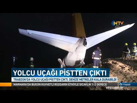 Trabzon'da faciaya metreler kala