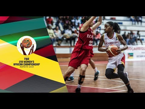 Mozambique v Egypt - Full Game - FIBA U18 Women's African Championship 2018