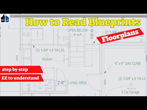 Residential Blueprints; Understanding the Floorplan