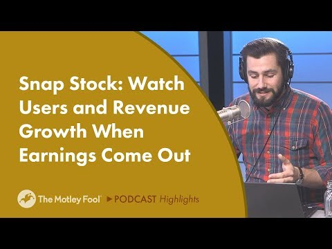 Snap Stock: Watch Users and Revenue Growth When Earnings Come Out