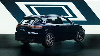 The design of the new Porsche Cayenne Turbo. thumbnail