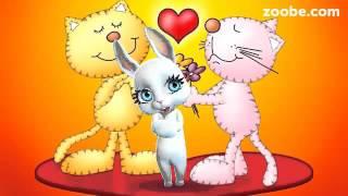 Зайка ZOOBE на русском «Любимому мужу в День Святого Валентина»