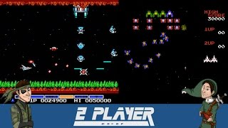 2 Player Co-Op Plays Galaga and Gradius (NES Classic Edition)