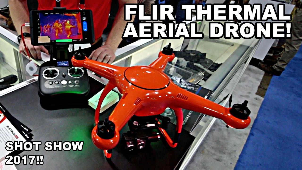FLIR Thermal Drone! SHOT Show 2017