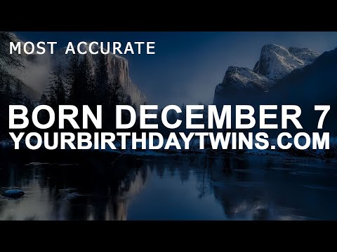 Born on December 7 | Birthday | #aboutyourbirthday | Sample