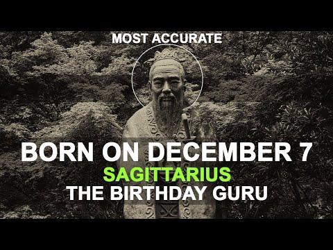 Born on December 7 | Birthday | #aboutyourbirthday | Sample
