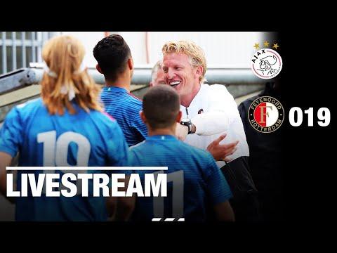 Kampioenswedstrijd LIVE   Ajax O19 - Feyenoord O19