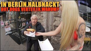 IN BERLIN, HALBNACKT HOTDOGS VERTEILEN, WARUM??   VLOG    LUCY CAT