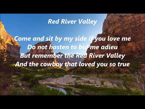 Red River Valley LYRICS WORDS BEST TOP POPULAR FAVORITE TRENDING SING ALONG SONGS