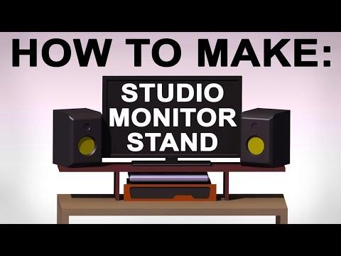 How to Make: Studio Monitor Stand/Riser