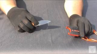Нож шейник Kizlyar Supreme Amigo Z оранжевая рукоять, сатин