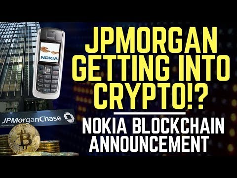 JPMorgan Trading Cryptocurrency? Blockstack Dapp Store, Big Nokia Announcements!  | Altcoin News