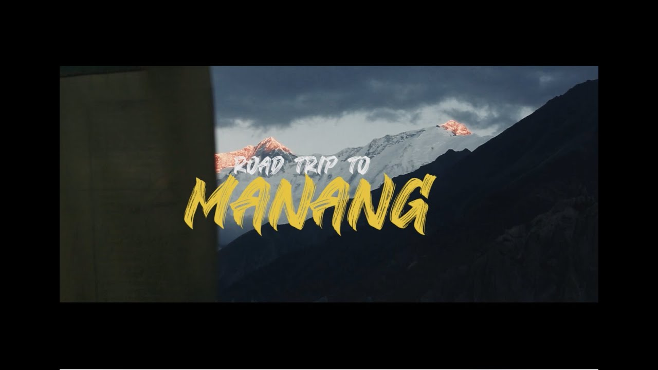 Download Road way to Manang | One of dangerous roads in Nepal